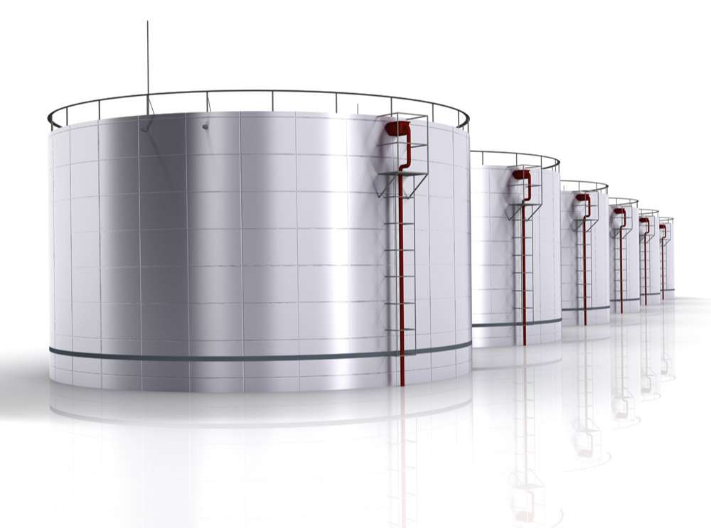 Chemical plant building design picture material