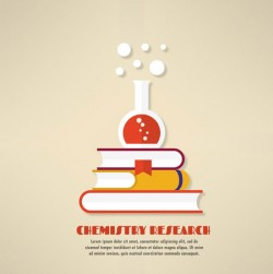 Chemical Research illustrator vector pictures