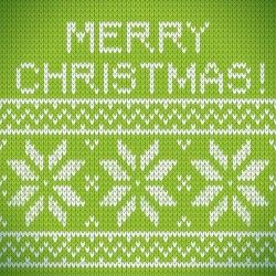Christmas green background with fabric texture Vector | Free Download