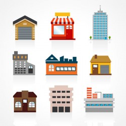 Construction vector color pictures