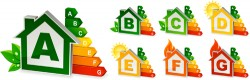 Creative arrow logos set vector 01