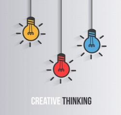 Creative Thinking illustrator