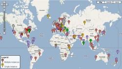 DNS Root Servers – Google Maps
