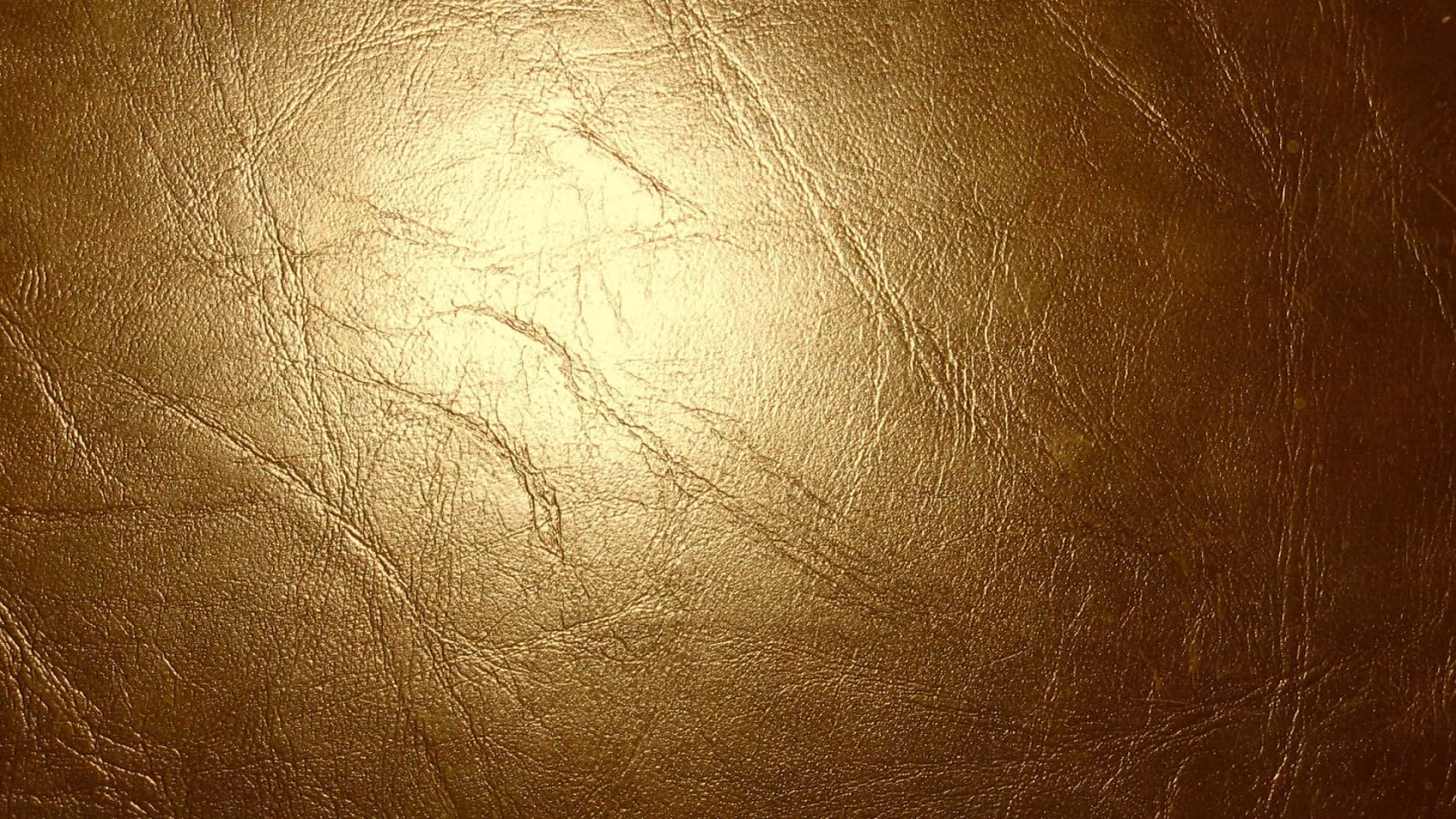 Leather Gold Wallpaper