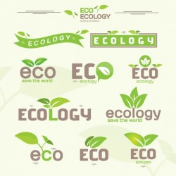 Ecology labels collection