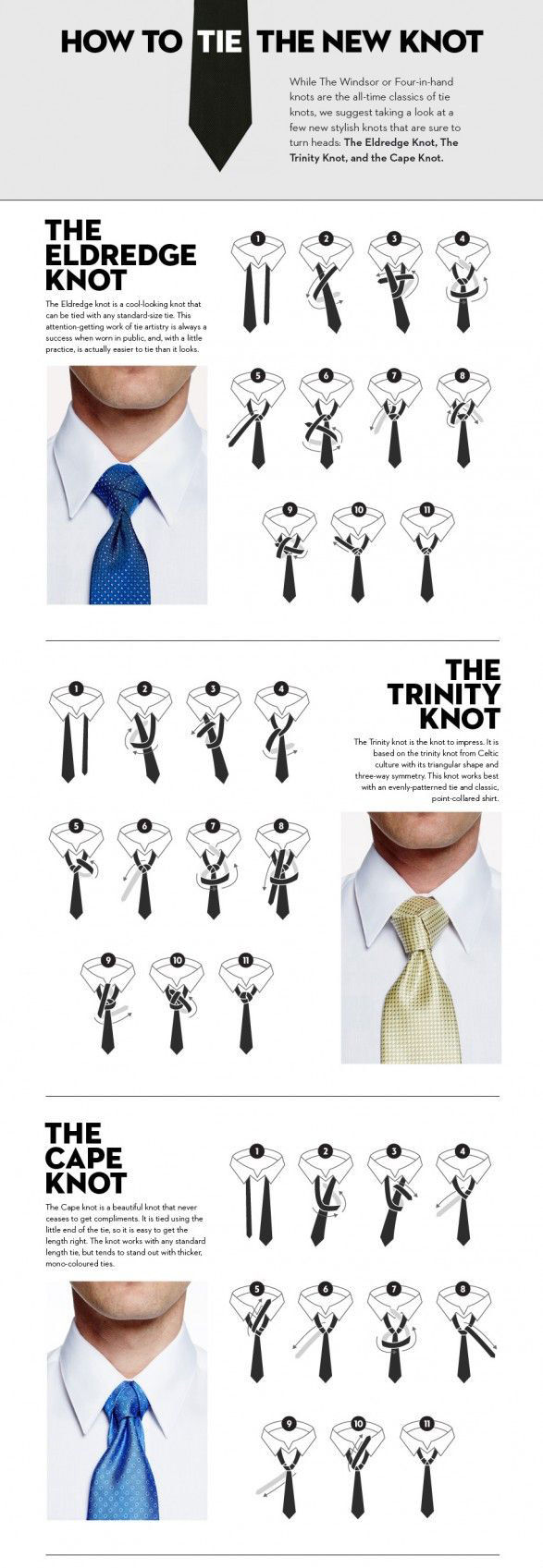 How to tie the new knot
