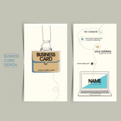 Flat card icon vector pictures