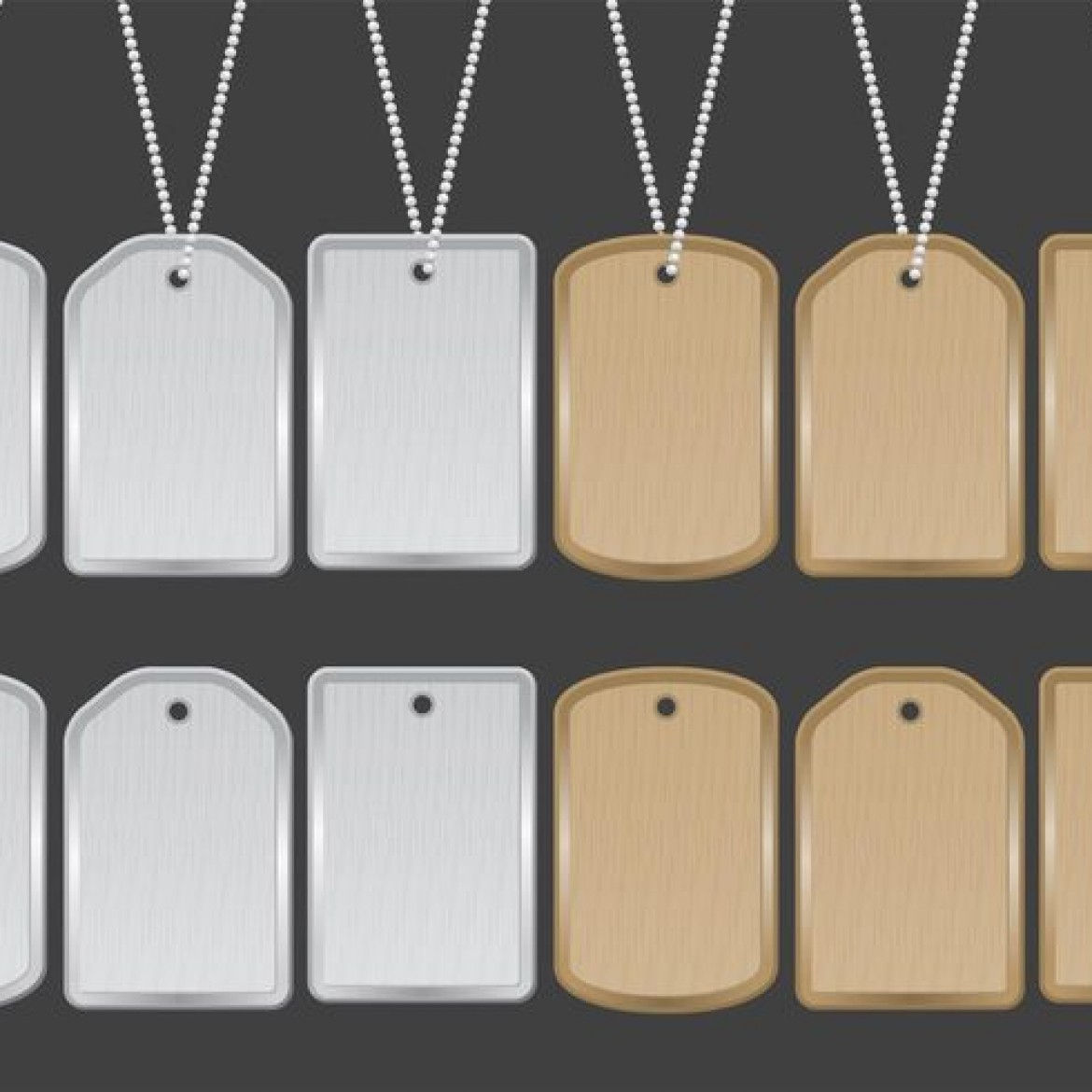 Free vector Dog Tag Vectors