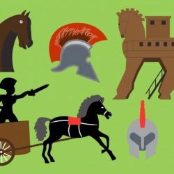 Free vector Trojan Horse Vector Elements