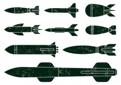 Free World War Missile Vectors