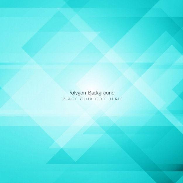 Geometric bright blue background