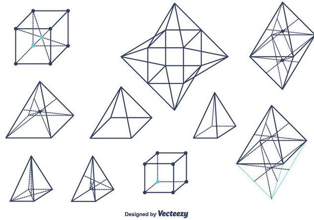Geometrical Shapes Vector Free