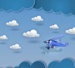 Glider clip art vector pictures