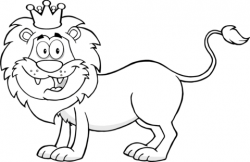 Happy Lion King coloring page   Free Printable Coloring Pages