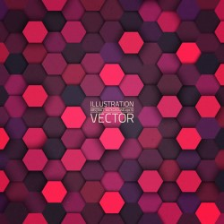 Hexagon seamless background