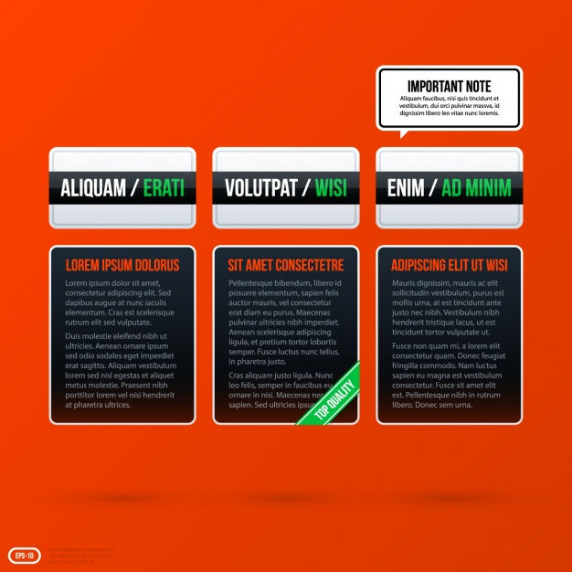 Infographic template design Vector   Free Download