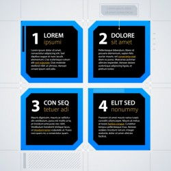 Infographic template design Vector | Free Download