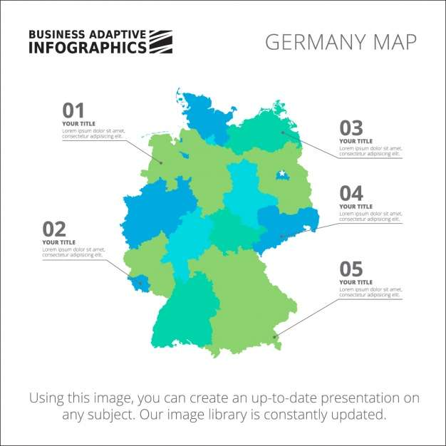 Germany Infographic template design