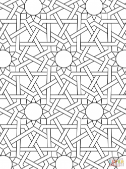 Islamic Ornament Mosaic | Super Coloring