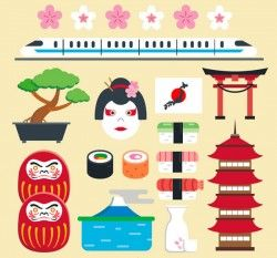 Japanese Cartoon element