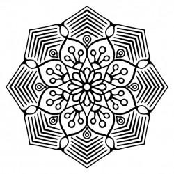 Mandala, outline