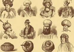 Men With Turbans Free Vector