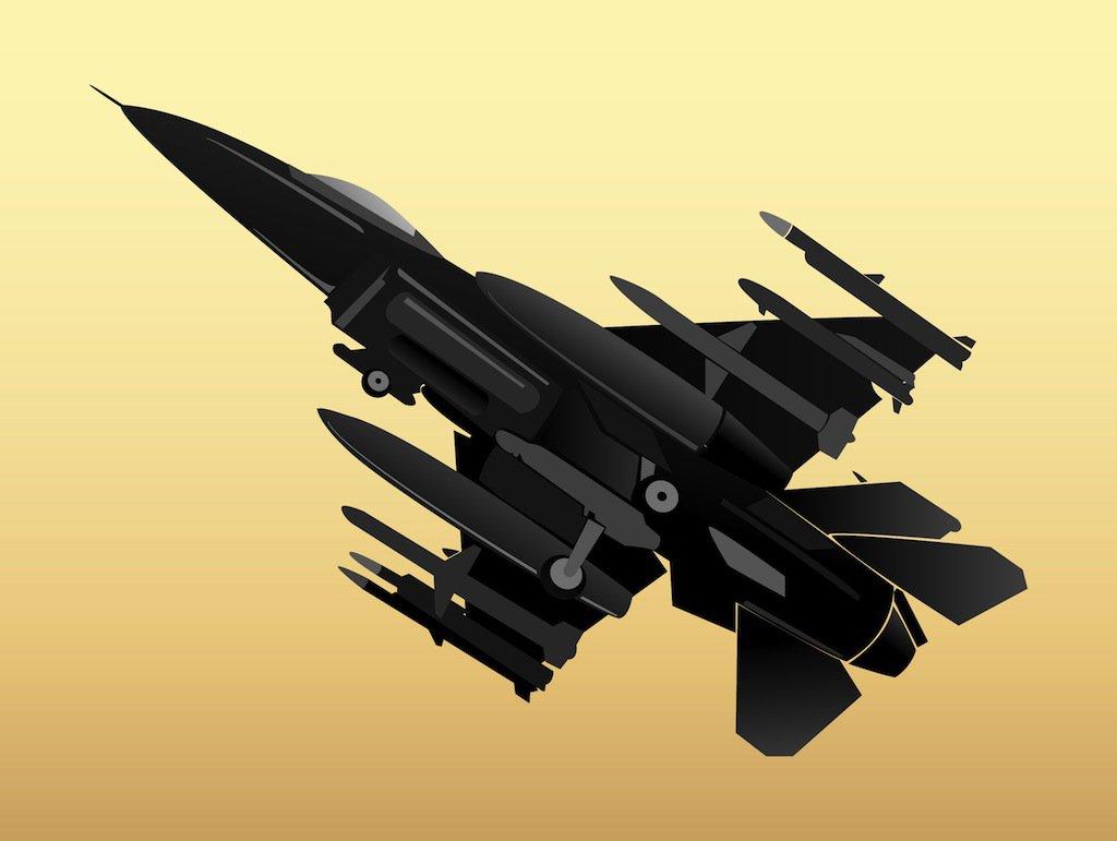 Military Plane Vector Art & Graphics