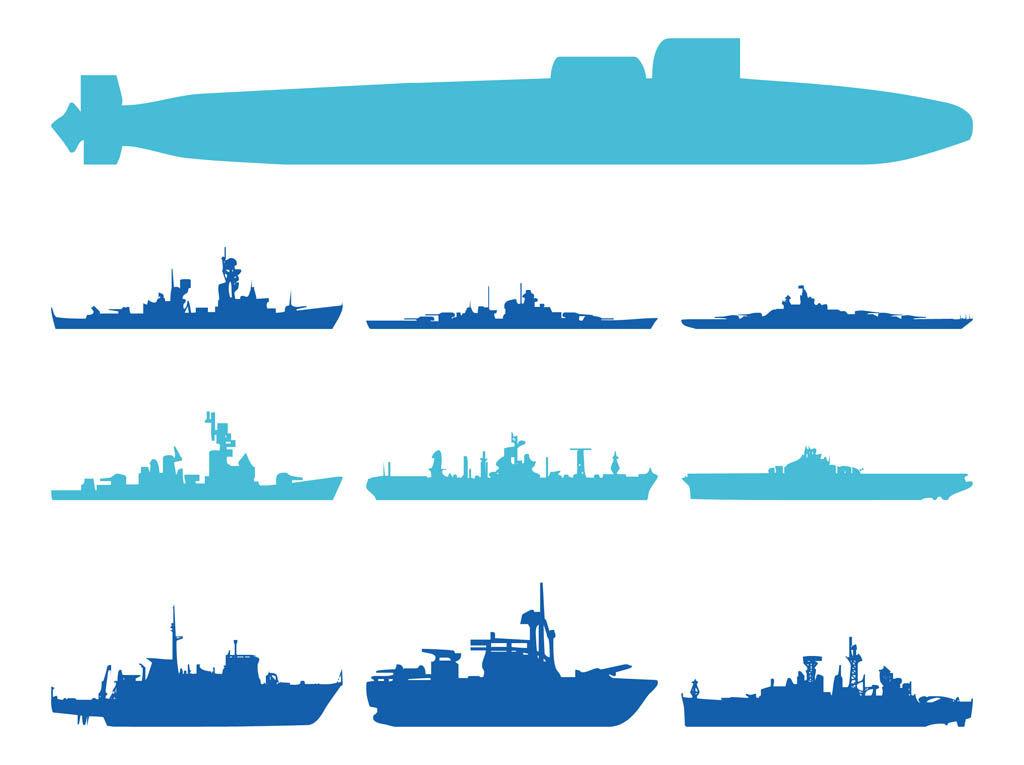 Military Ships Vector Art & Graphics