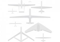 Military Drone Vectors