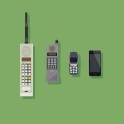 Mobile phone evolution design