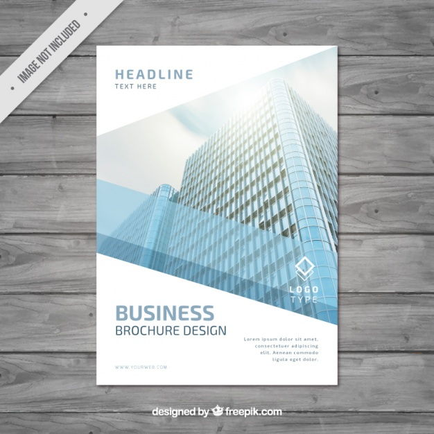 Modern business brochure design