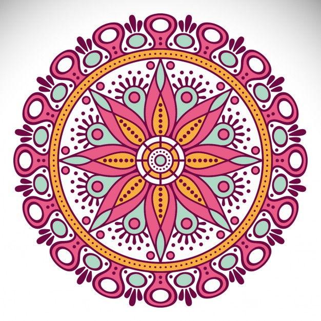 Ornamental mandala