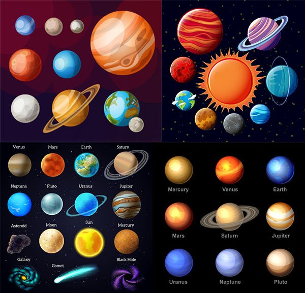 Planet of the universe of galaxies