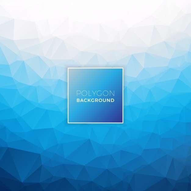 Polygonal background design