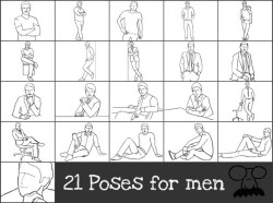 21 poses for your photo-shoot : A handy guide