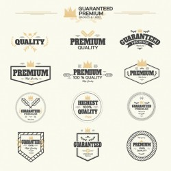 Premium labels collection