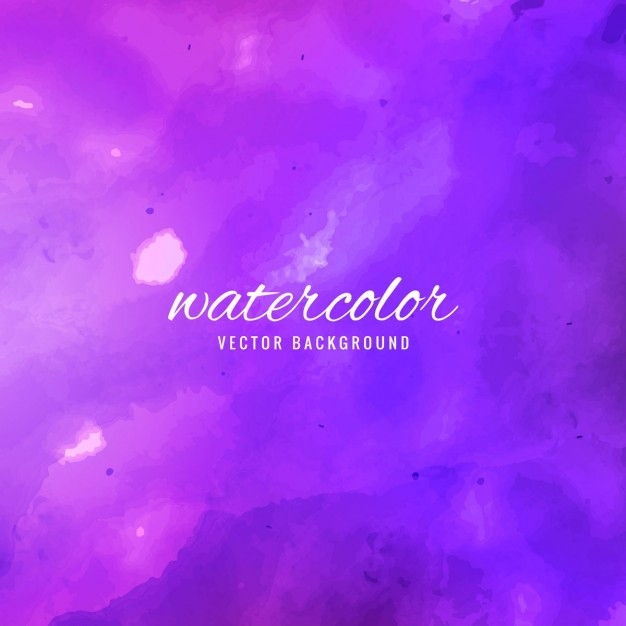 Purple watercolor background with abstract shapes Vector | Free Download