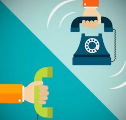 Receive calls illustrator vector