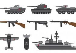 Set Of World War 2 Vector