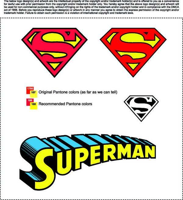 Superman Logos [EPS-CDR-Ai Files]