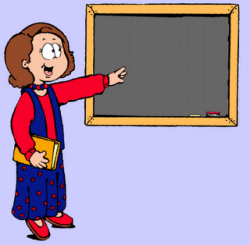 Teaching Teacher Clipart