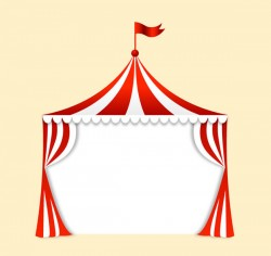 Troupe tent vector pictures