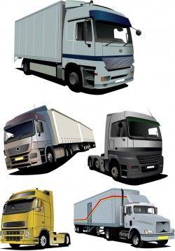 Vector truck Vector Image