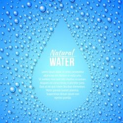 Water drops background design