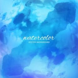 Watercolor texture in blue tones Vector   Free Download