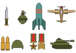 World War 2 Icon Vector