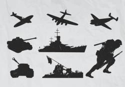 World War 2 Plane Vectors