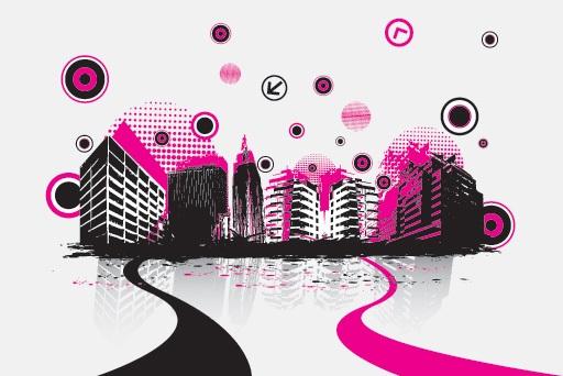 City Soundtrack Vector