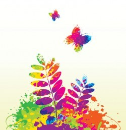Colorful Spring Vector