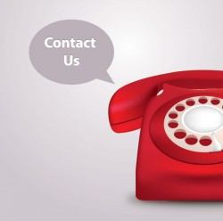 Contact Us Vector Graphic